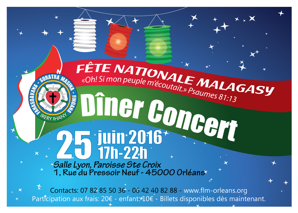 Fête nationale Malagasy ORLEANS 2016