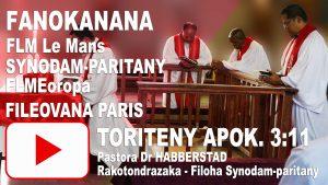Fanokanana Le Mans_Toriteny apokalypsy 3:11